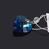 Підвіска (кулон) і Серце з кристалом Swarovski, фото 2