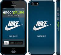 "Чехол на iPhone 5 Nike 2 ""447c-18"""