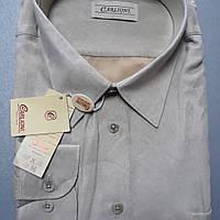 Велюровая рубашка-великан CARLIONI (размер 50,51)