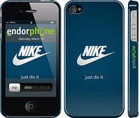 "Чехол на iPhone 4 Nike 2 ""447c-15"""