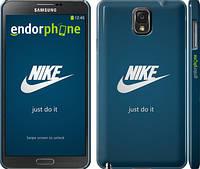 "Чехол на Samsung Galaxy Note 3 N9000 Nike 2 ""447c-29"""