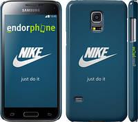 "Чехол на Samsung Galaxy S5 mini G800H Nike 2 ""447c-44"""