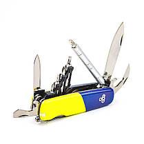 Мультитул Ego tools IT.01 сине-желтый с набором бит (IT.01DVUK) Германия, фото 2