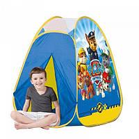 Детская палатка для игры дома и на улице Щенячий патруль Simba 71044