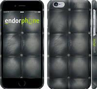 "Чехол на iPhone 6 Кожаная обивка ""1104c-45"""