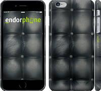 "Чехол на iPhone 6 Plus Кожаная обивка ""1104c-48"""