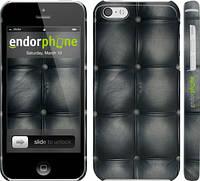 "Чехол на iPhone 5c Кожаная обивка ""1104c-23"""