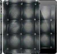 "Чехол на iPad 5 (Air) Кожаная обивка ""1104c-26"""