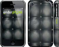 "Чехол на iPhone 3Gs Кожаная обивка ""1104c-34"""