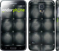 "Чехол на Samsung Galaxy S5 Duos SM G900FD Кожаная обивка ""1104c-62"""