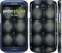 "Чехол на Samsung Galaxy S3 Duos I9300i Кожаная обивка ""1104c-50"""