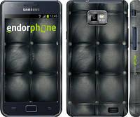 "Чехол на Samsung Galaxy S2 Plus i9105 Кожаная обивка ""1104c-71"""