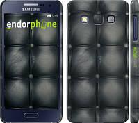 "Чехол на Samsung Galaxy A3 A300H Кожаная обивка ""1104c-72"""