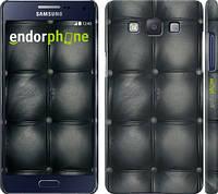 "Чехол на Samsung Galaxy A5 A500H Кожаная обивка ""1104c-73"""