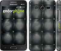 "Чехол на Samsung Galaxy Core 2 G355 Кожаная обивка ""1104c-75"""