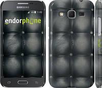 "Чехол на Samsung Galaxy Core Prime G360H Кожаная обивка ""1104c-76"""