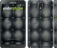 "Чехол на Samsung Galaxy Note 3 N9000 Кожаная обивка ""1104c-29"""