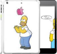 """Чехол на iPad 5 (Air) Симпсоны, Гомер с яблоком """"937c-26"""""""