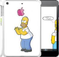 "Чехол на iPad mini Симпсоны, Гомер с яблоком ""937c-27"""