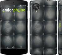 """Чехол на LG Nexus 5 Кожаная обивка """"1104c-57"""""""