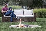 Набор садовой мебели California 3-Seater Sofa из искусственного ротанга ( Allibert by Keter ), фото 6