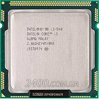 Процессор Intel Core i3-540 3.06GHz/4MB/1333MHz (BX80616I3540) Socket 1156 73W