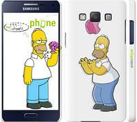 """Чехол на Samsung Galaxy A5 A500H Симпсоны, Гомер с яблоком """"937c-73"""""""
