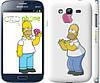 """Чехол на Samsung Galaxy Grand Duos I9082 Симпсоны, Гомер с яблоком """"937c-66"""""""