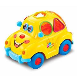 Детская музыкальная игрушка сортер 516 фруктовая машинка