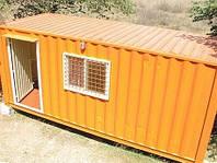 Дачный домик из контейнера / Модульный дом
