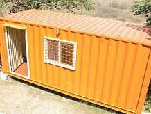 Дачный домик из контейнера