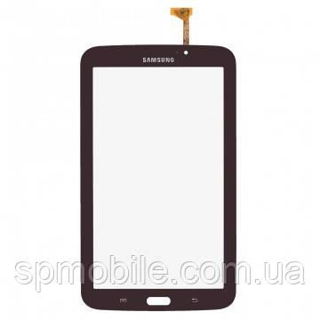 Тачскрін Samsung T210 Galaxy Tab 3 7.0 коричневий оригінал