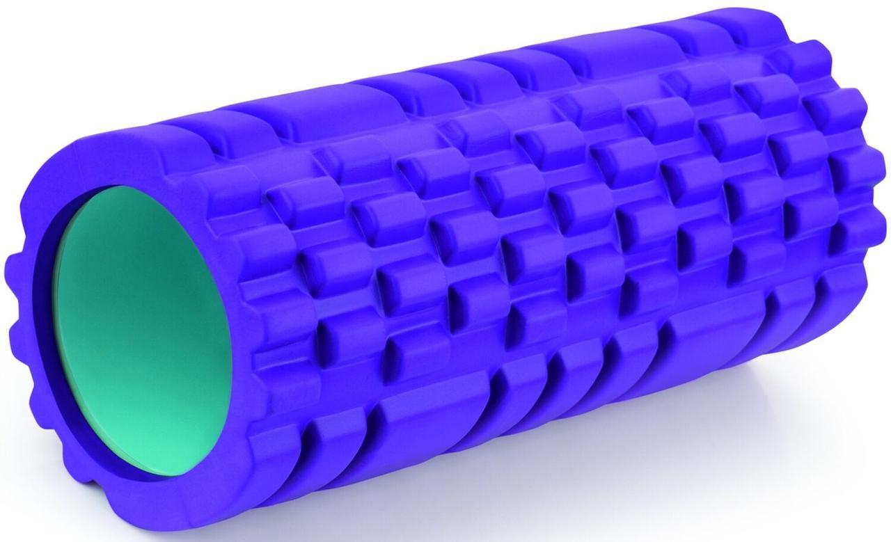 Массажный ролик Torneo, фиолетовый