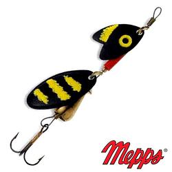 Блесна Mepps Tandem Trout Black/Yellow/Black 3.5гр №0 (30735 001)