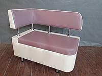 Кухонный диван «Тorino R» с боковой спинкой