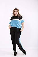 Голубой спортивный костюм | 01237-2 GARRY-STAR
