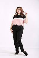 Розовый удобный спортивный костюм | 01237-3 GARRY-STAR
