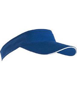 Козырек солнцезащитный Ярко-Синий / Белый