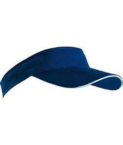 Козырек солнцезащитный Тёмно-Синий / Белый