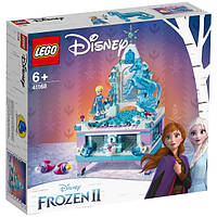 Lego Disney Princesses Холодное сердце 2 Шкатулка Эльзы 41168 Frozen 2 Elsa's Jewellery Box Creation