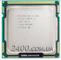 Процессор Intel Core i5-760 2.8GHz/8M/1333MHz (BX80605I5760) Socket 1156 95W
