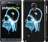 "Чехол на Samsung Galaxy Note 4 N910H Гомер. Томография ""652c-64"""