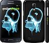 "Чехол на Samsung Galaxy S4 mini Duos GT i9192 Гомер. Томография ""652c-63"""