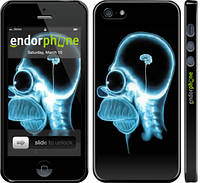 """Чехол на iPhone 5s Гомер. Томография """"652c-21"""""""