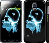 "Чехол на Samsung Galaxy S5 Duos SM G900FD Гомер. Томография ""652c-62"""