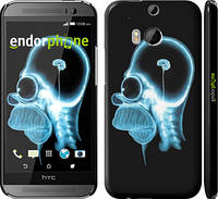 "Чехол на HTC One M8 dual sim Гомер. Томография ""652c-55"""