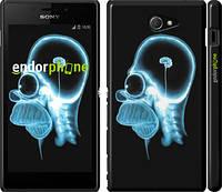 """Чехол на Sony Xperia M2 dual D2302 Гомер. Томография """"652c-61"""""""