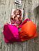 Купальник женский яркий, малиновый Victoria Secret, оригинал, фото 4
