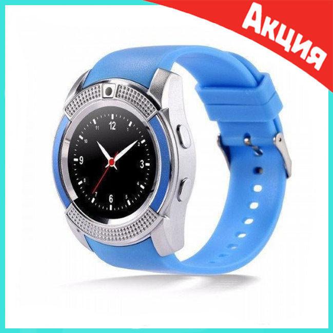 Смарт-часы Smart Watch V8   Синие