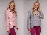 Женская куртка асимметричной длины
